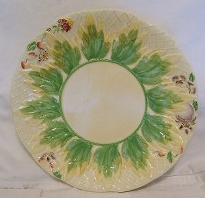 Clarice Cliff Newport Pottery 'Leaf & Berries' Circular Plate - 1930s